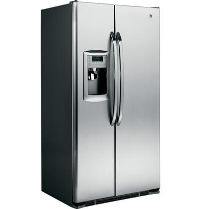 GE GSCS3PGXSS Freestanding Side by Side Refrigerator