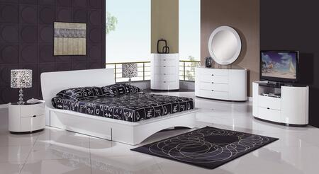Global Furniture USA GIAWHFBG Gia Full Size Beds