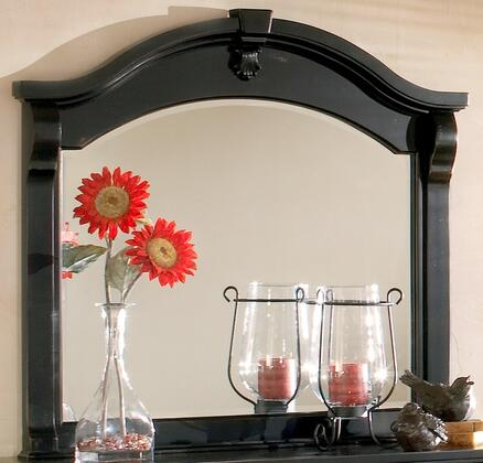 American Woodcrafters 2900-040  Arched Landscape Dresser Mirror