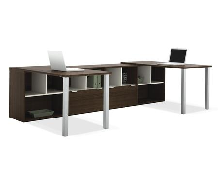 Bestar Furniture 50855 Contempo Two L-Shaped desks kit