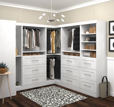 "Bestar Furniture 26858 Pur by Bestar 100"" Optimum kit"