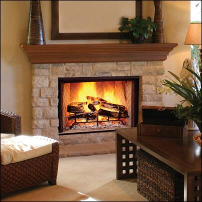 Majestic SB50HB Biltmore Series Vent Free Woodburning Fireplace