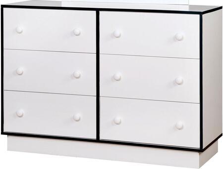 Furniture of America CM7852BLD Bobbi Series  Dresser