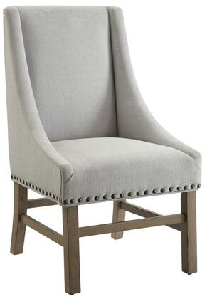 Donny Osmond Home 180252 Florence Series Modern Fabric Wood Frame Dining Room Chair