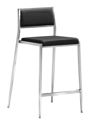 "Zuo 30018X Dolemite Collection 26"" Seat Height Modern Counter Chair in"