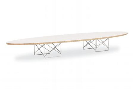 Fine Mod Imports FMI2018WHITE Chrome modern/contemporary Table