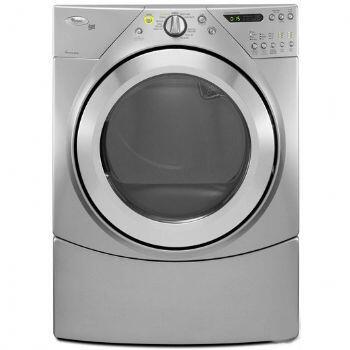 Whirlpool WGD9450WL  Gas Dryer, in Silver