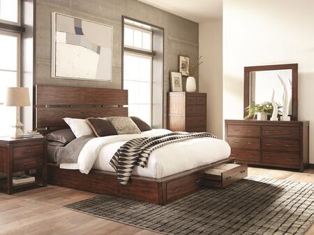 Scott Living Artesia 5 Piece King Size Bedroom Set