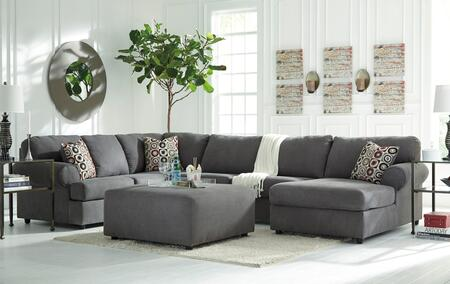 Milo Italia MI438066341708STEE Camila Living Room Sets
