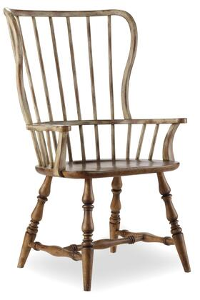 Hooker Furniture 3001-753 Sanctuary Series Dining Room Drift and Dune Chair (Sold in 2 Chairs per Order/Priced Individually, Beige