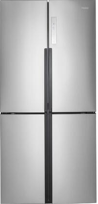 haier hrq16n3bgs 33 inch stainless steel counter depth 4 door french door refrigerator with 16 4. Black Bedroom Furniture Sets. Home Design Ideas