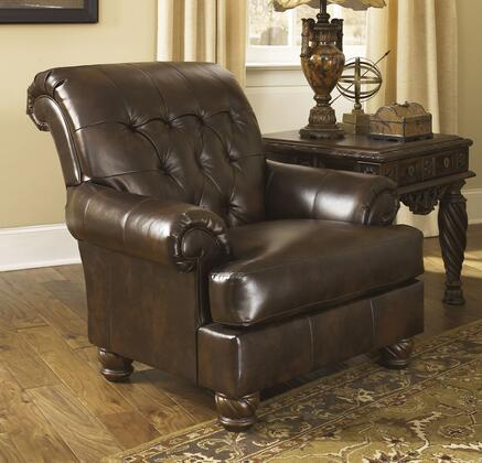 Signature Design by Ashley Fresco DuraBlend Accent Armchair Side View