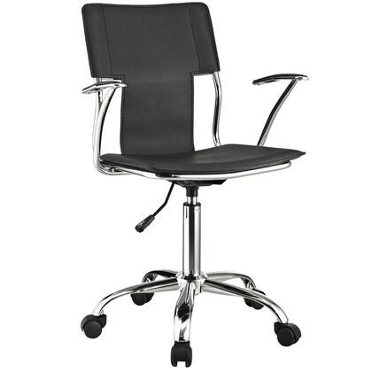 """Modway EEI198BLK 22"""" Adjustable Contemporary Office Chair"""