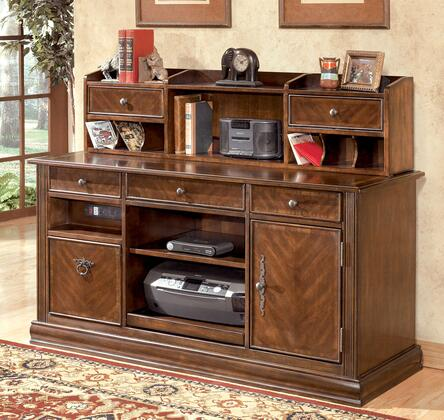 Hutch Shown with Large Credenza