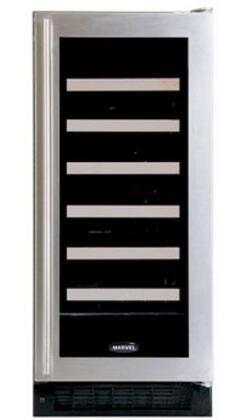 "Marvel 30WCMBBGL 14.875"" Built In Wine Cooler, in Black Frame Glass Door"