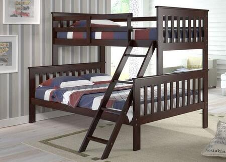 Donco 1222CP  Full Size Bunk Bed