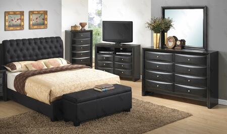 Glory Furniture G1500CFBUPDMB G1500 Full Bedroom Sets