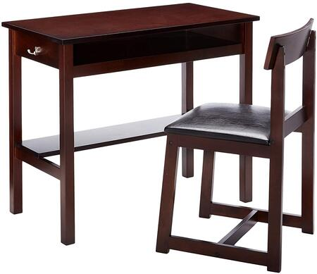 Acme Furniture 92044 Vester Series Writing  Wood Desk