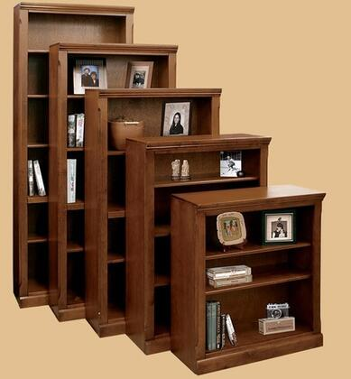 Legends Furniture OS6884SPROld Savannah Series  5 Shelves Bookcase