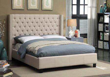 Meridian ASHTONBEIGE-QBOX Box X for Queen Size Bed