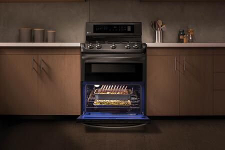 ... LG Black Stainless Steel ProBake Convection ...