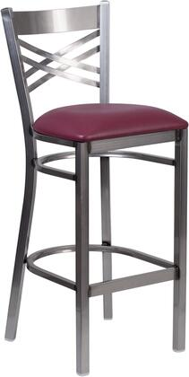 Flash Furniture XU6F8BCLRBARBURVGG Hercules Series Commercial Vinyl Upholstered Bar Stool