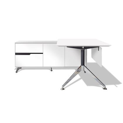 Unique Furniture 482WH Modern Standard Office Desk