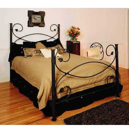 Stone County Ironworks 900718HRICA Castanea Series  California King Size Poster Bed