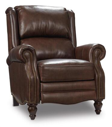Living Room Recliner in Brown