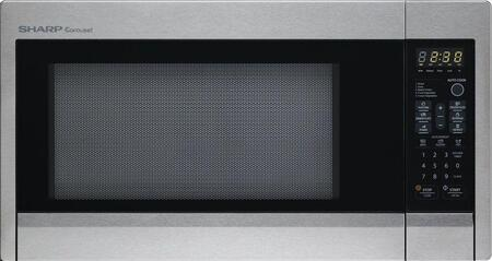 Sharp R431ZS Countertop Microwave, in Stainless Steel