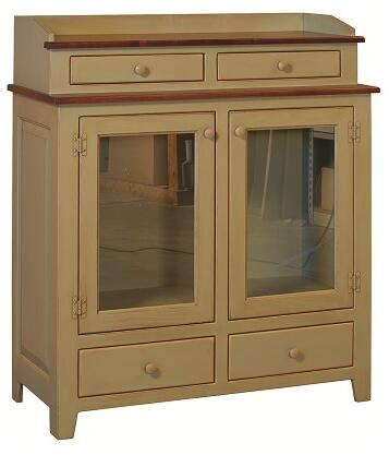 Chelsea Home Furniture 4650243SBU Jefferson Series Freestanding Wood 4 Drawers Cabinet