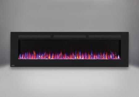 Allure 72 in. Fireplace   Orange and Blue Flame