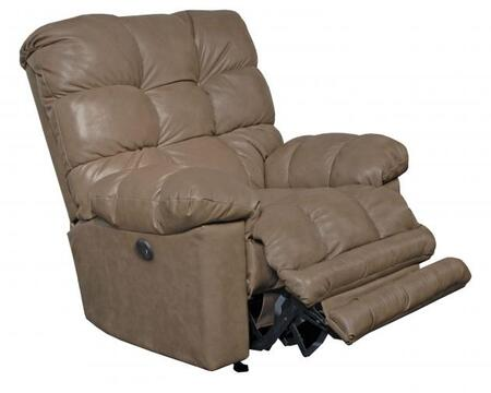 """Catnapper Piazza Collection 4776 46"""" Recliner with Comfort-Driven Tufted Body, Comfort Coil Seating, Steel Seat Box and Top Grain Genuine Italian Leather Upholstery"""