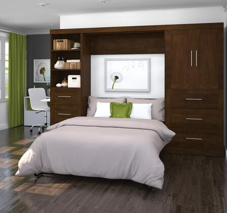"Bestar Furniture 26899 Pur by Bestar 120"" Full Wall bed kit"