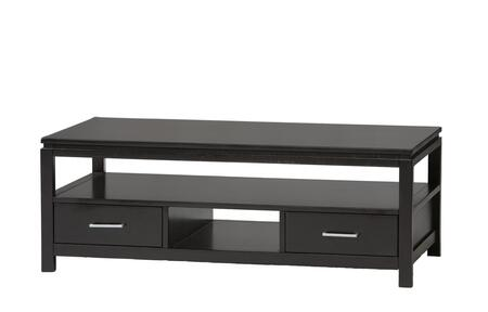 Linon 84027BLK01KDU Black Contemporary Table