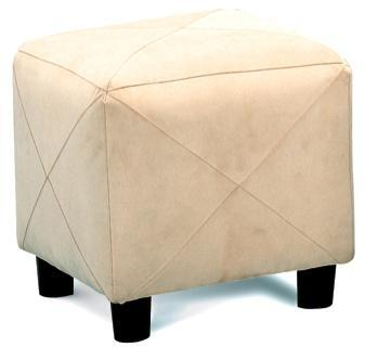 Coaster 500944 Ottomans Series Contemporary Microfiber Ottoman