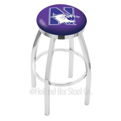 Holland Bar Stool L8C2C25NTHWST Residential Vinyl Upholstered Bar Stool