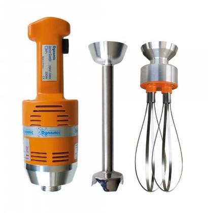 Dynamic MX022X Junior Combi With Whisk Tool, Mixer Tool, Safety Switch, Variable Speed, Titanium Plated Cutter Blade, in Orange