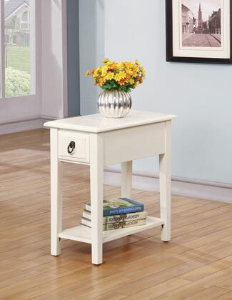 Acme Furniture 80513 Jeana Series Transitional Wood Rectangular 1 Drawers End Table