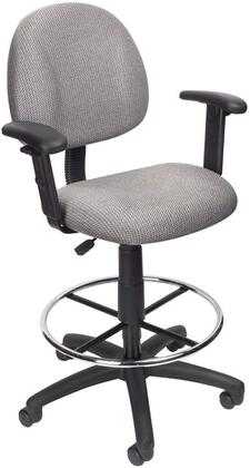 "Boss B1616GY 25"" Adjustable Contemporary Office Chair"