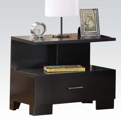 Acme Furniture 20063 London Series Rectangular Wood Night Stand