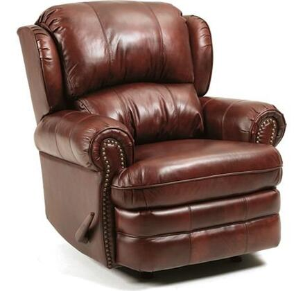 Lane Furniture 5421S167576722 Hancock Series Traditional Leather Wood Frame  Recliners