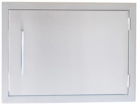 Sunstone BA-D14 Signature Series Belved Frame Single Access Door in Stainless Steel