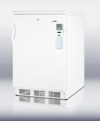 Summit CT66LBIMED CT66 Series Built In Compact Refrigerator with 5.1 cu.ft. Capacity, 3 Glass Shelves