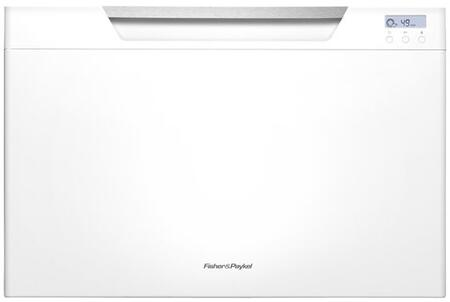 """Fisher Paykel DD24SCW7 24"""" DishDrawer Series Drawers Semi-Integrated Dishwasher 