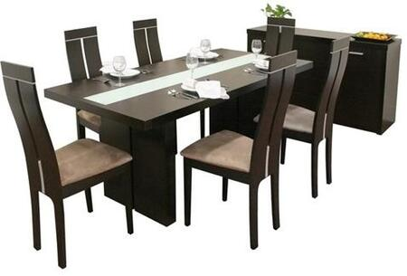 Wholesale Interiors MAGNESS8PIECESET Magness Dining Room Set