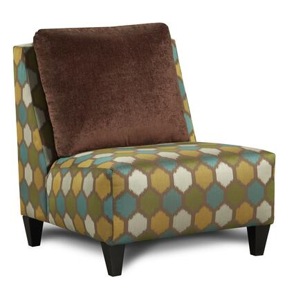 Chelsea Home Furniture 631329182 Catania Series Armchair Fabric Wood Frame Accent Chair