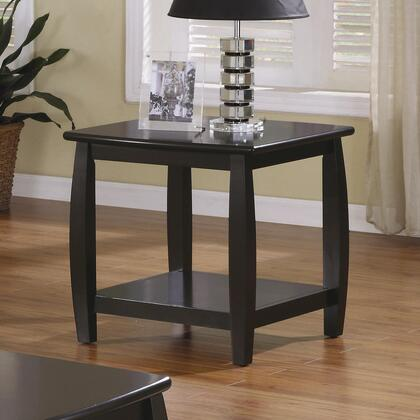 Coaster 701077 Contemporary Wood  End Table