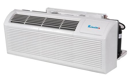 Klimaire KTHM012 12,000 BTU PTAC Packaged Terminal Air Conditioner with 3kw Electric Heater, Quick Condenser, Electronic Controls, Optional Remote, and Easy-Clean Filter in White