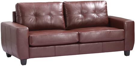Glory Furniture G200AS  Stationary Bycast Leather Sofa
